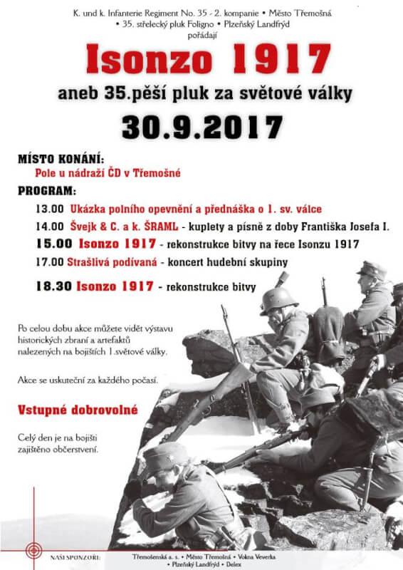 Československá obec legionářská - Battaglie dell'Isonzo