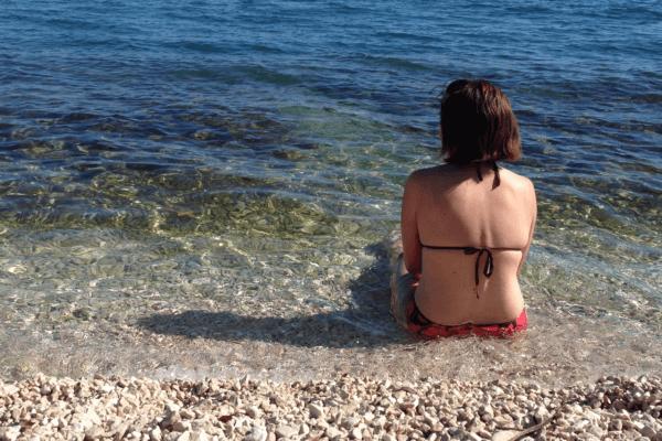 ceco in spiaggia