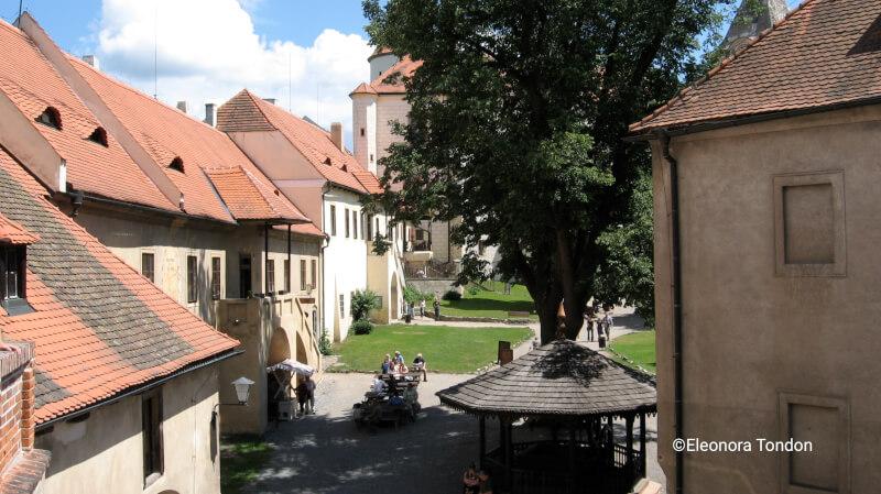 corte del castello di Křivoklát