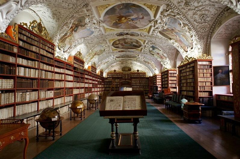 Biblioteca del Monastero di Strahov - Praga